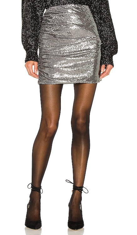 Betty Sequin Skirt Ronny Kobo $348