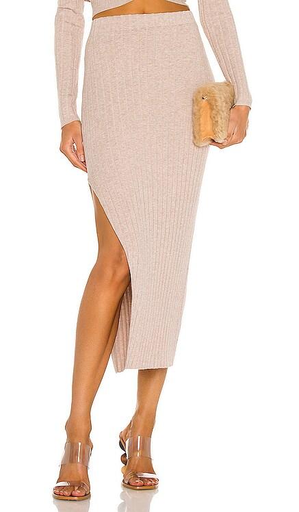 Irenna Knit Skirt Ronny Kobo $358 NEW