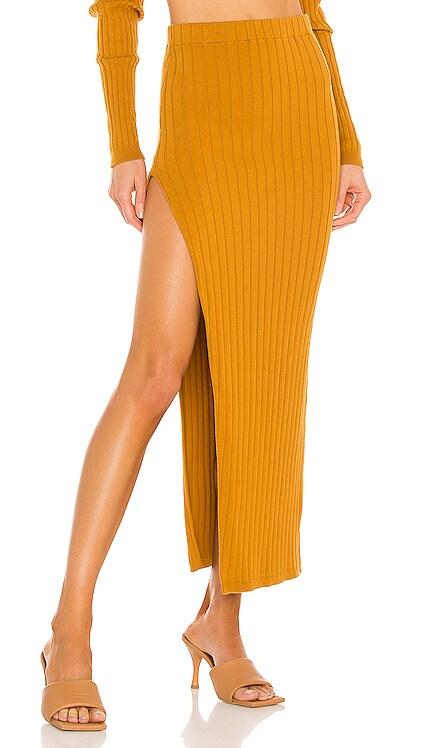 Irenna Knit Skirt Ronny Kobo $348