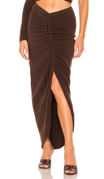 Zuna Knit Skirt Ronny Kobo $298 NEW