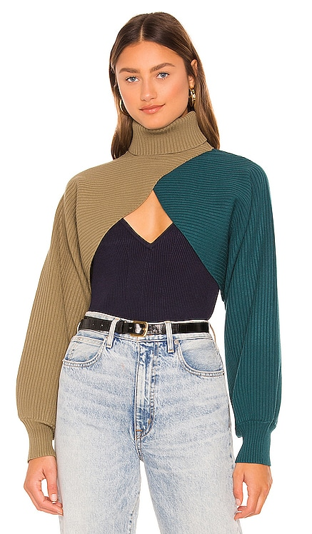 Rennia Knit Top Ronny Kobo $378 NEW