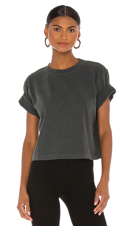 Relaxed Crop Tee Richer Poorer $38