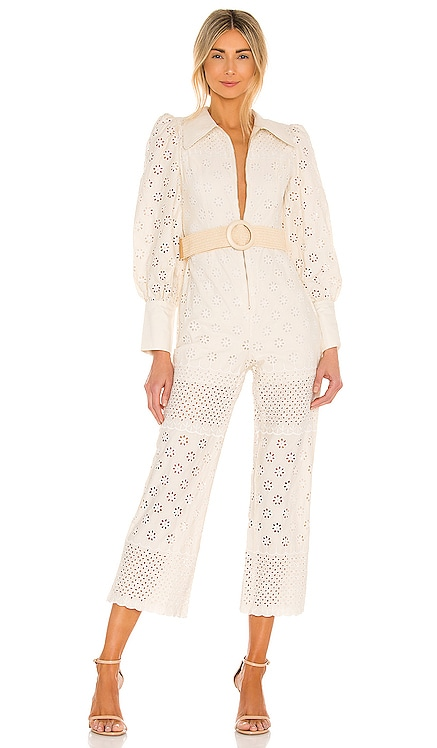 Belted Jumpsuit RAISSA $473 NEW