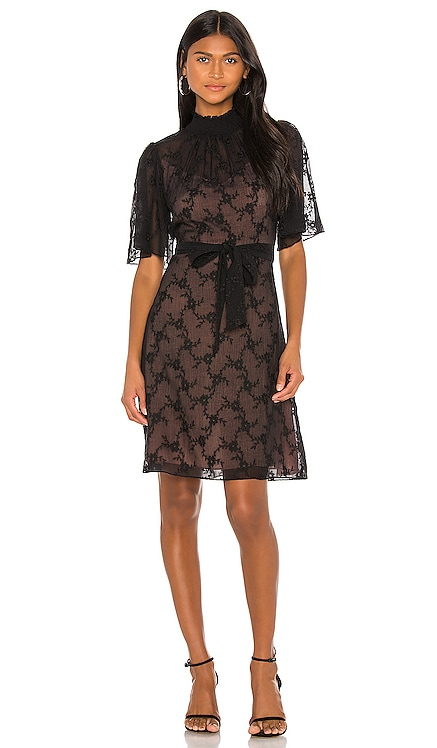 Short Sleeve Vine Embroidery Dress Rebecca Taylor $495 NEW ARRIVAL
