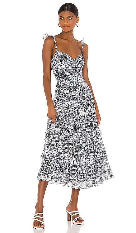 Sleeveless Petula Ruffle Dress Rebecca Taylor $395