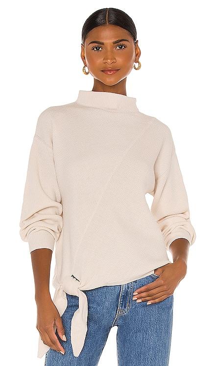 Long Sleeve Side Tie Sweater Rebecca Taylor $395 NEW