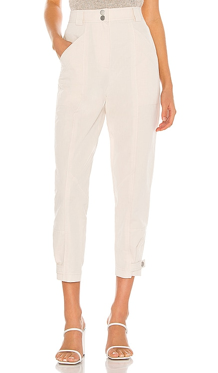 Textured Cotton Pant Rebecca Taylor $118