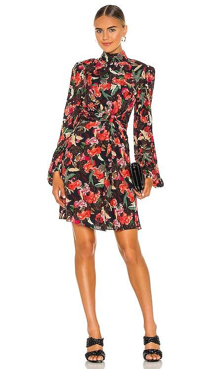 Demi Mini Dress SALONI $550 NEW