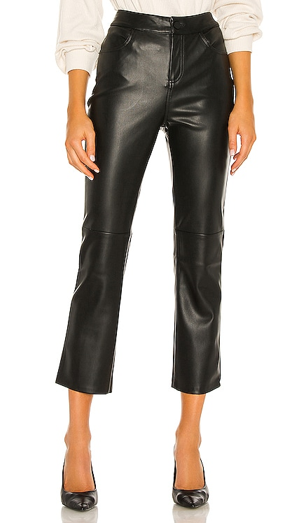 Leather Like Kick Crop Pant Sanctuary $129