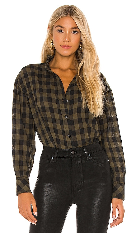 All About The Ruffle Shirt Sanctuary $89 NEW