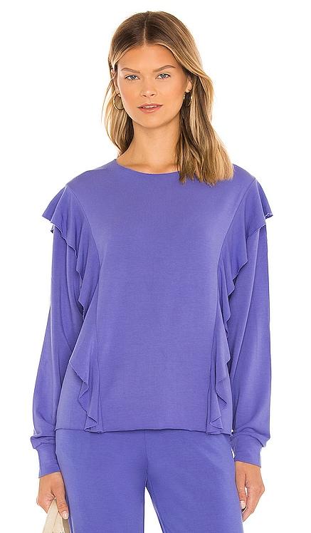 Amelie Sweatshirt Stripe & Stare $115 NEW