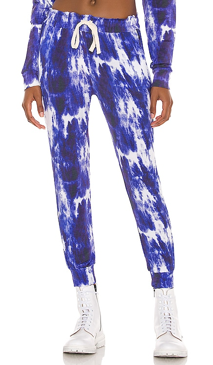 Ink Tie Dye Lounge Pant Stripe & Stare $80 NEW