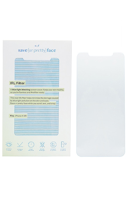 Blue Light Blocking IRL Filter 11/XR Save(urpretty)face $34 NOUVEAU