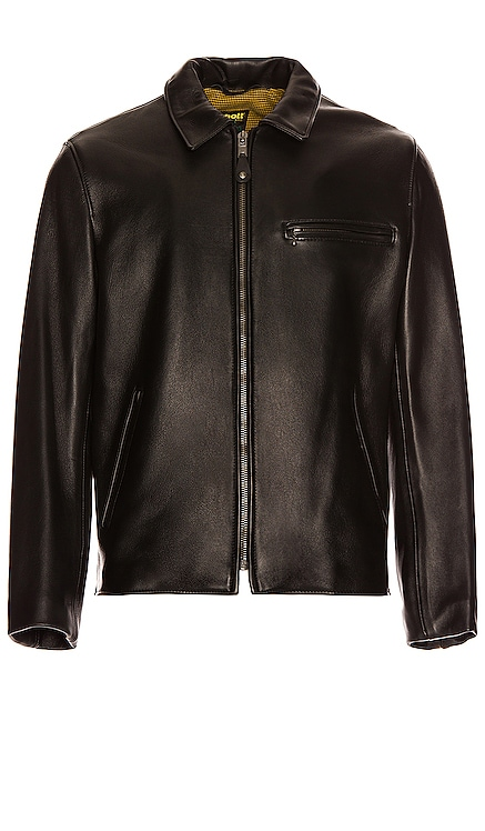 Collar Lamb Leather Jacket Schott $820 BEST SELLER