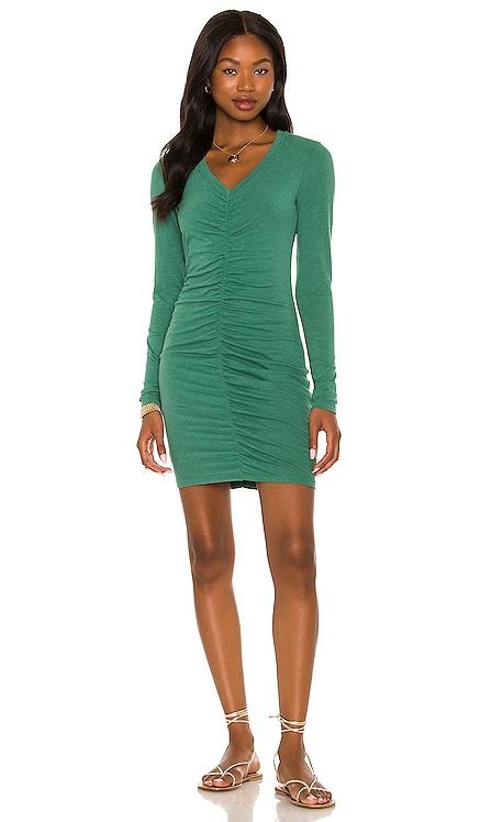 Ruched Long Sleeve Dress SUNDRY $178