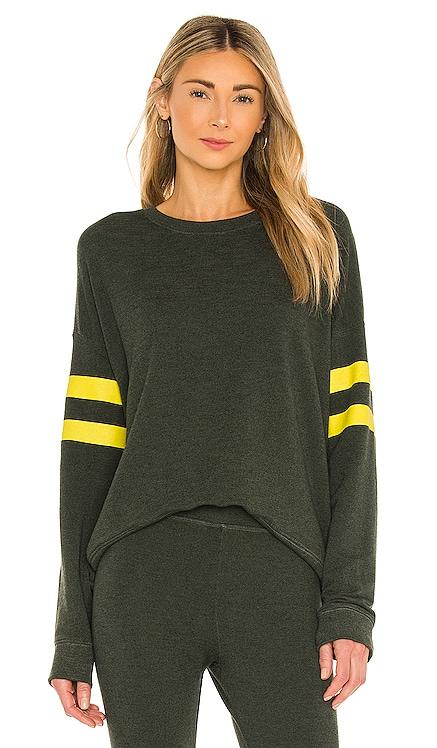Yellow Stripe Sweatshirt SUNDRY $178 Sustainable