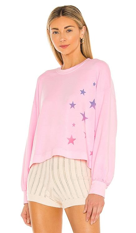Ombre Stars Sweatshirt SUNDRY $144 NEW