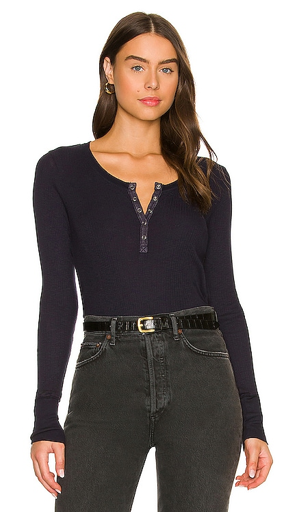 Fitted Henley SUNDRY $89 NEW