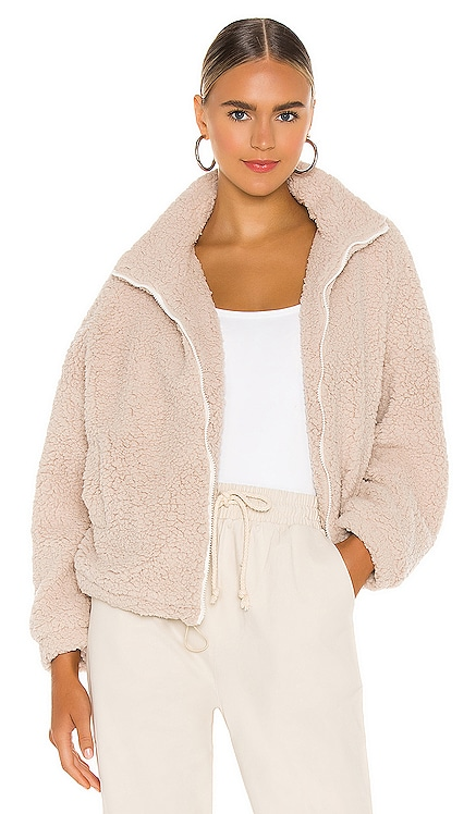 Sheepish Faux Fur Jacket SNDYS $65 NEW