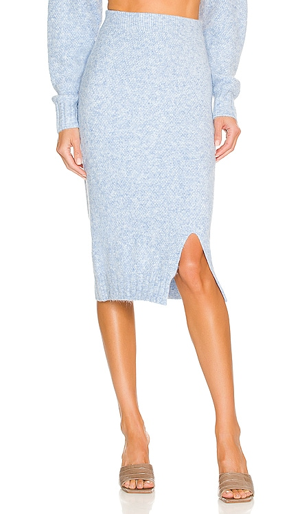 Late Lunch Knit Skirt SNDYS $69 NEW