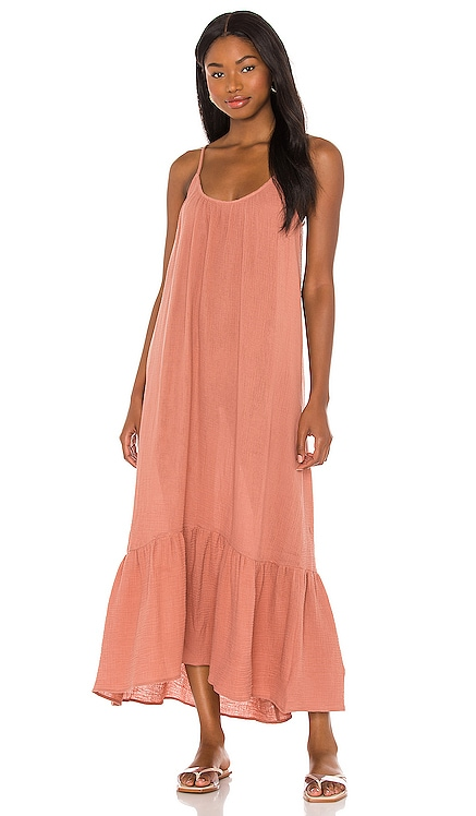 Double Cloth Midi Slip Dress Seafolly $128