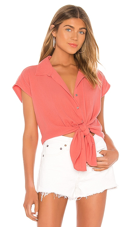 Button Beach Shirt Seafolly $78