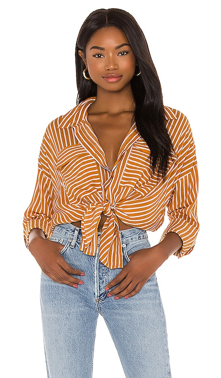 Stripe Beach Shirt Seafolly $98