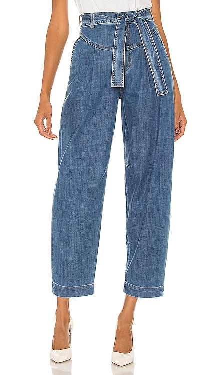 Signature Blue Denim Trousers See By Chloe $180