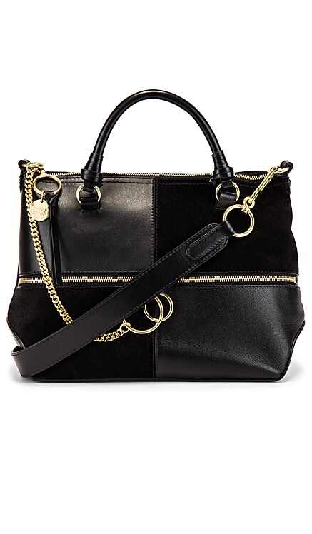 Emy Small Suede & Leather Satchel See By Chloe $550 BEST SELLER