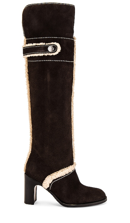 Liz Shearling Boot See By Chloe $615 NEW