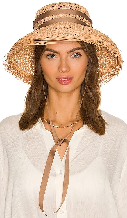 Ribbon Calado Hat SENSI STUDIO $165 NEW