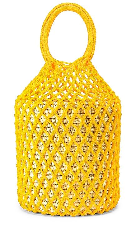 Straw Netted Bucket Bag SENSI STUDIO $52 (FINAL SALE)