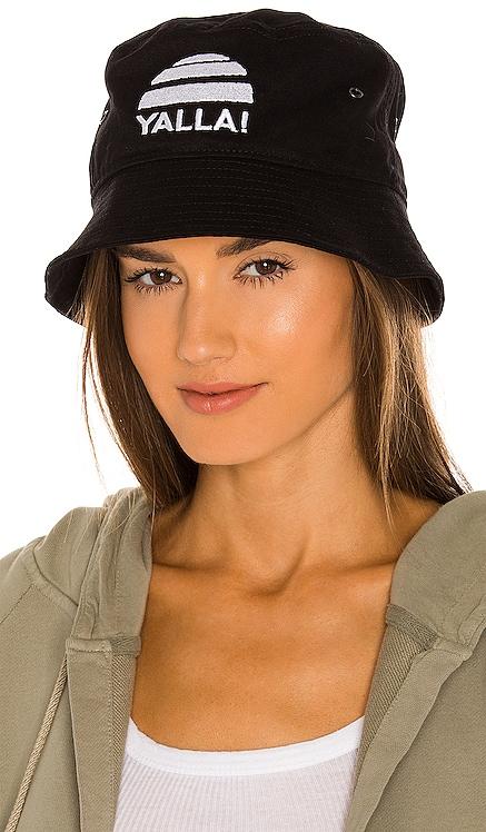 Washed Denim Bucket Hat SER.O.YA $80