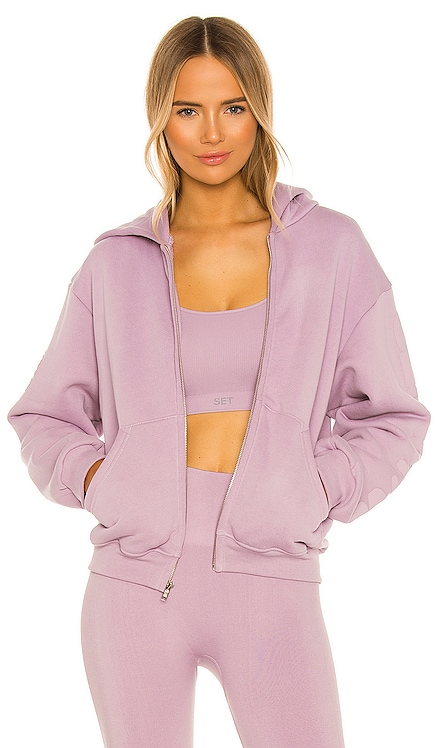 X REVOLVE Zip Up Hoodie Set Active $140