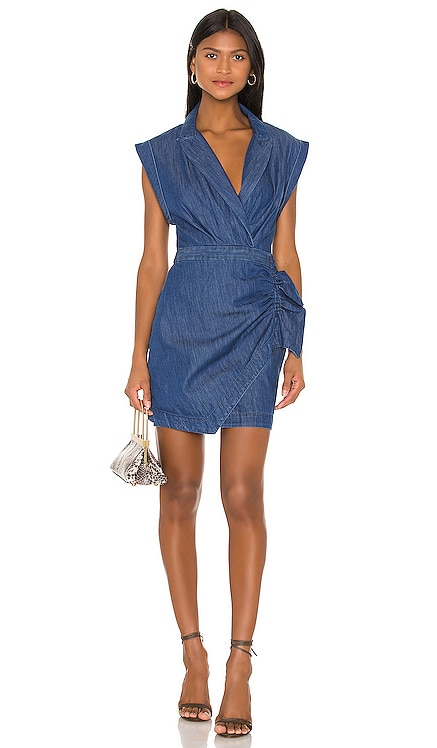 Blazer Dress With Ruffle 7 For All Mankind $186