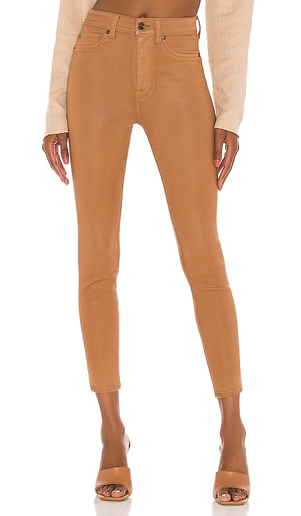 The High Waist Ankle Skinny With Faux Pockets 7 For All Mankind $198 BEST SELLER