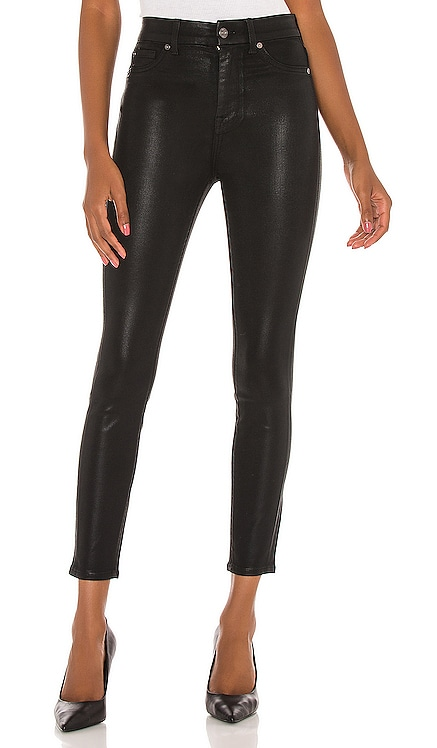 The High Waist Ankle Skinny With Faux Pockets 7 For All Mankind $198
