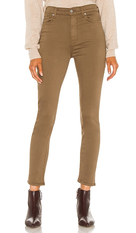 The High Waist Ankle Skinny 7 For All Mankind $98