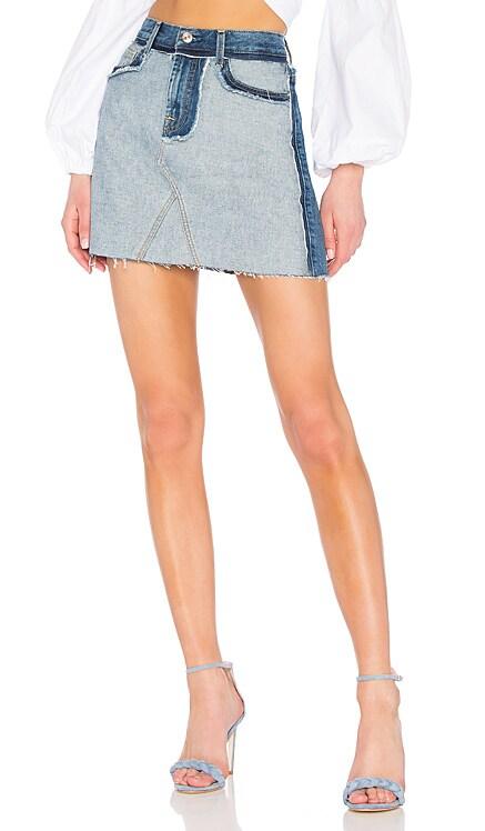Aline Mini Skirt 7 For All Mankind $143