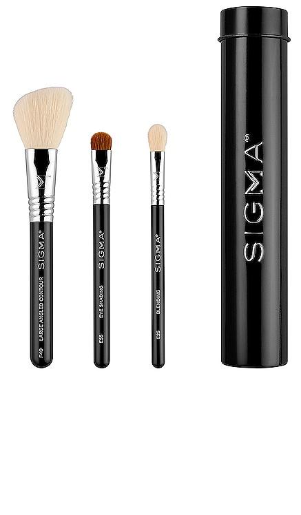 Essential Trio Brush Set Sigma Beauty $29 NUEVO