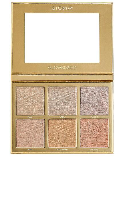 PALETA GLOWKISSED Sigma Beauty $49 NUEVO