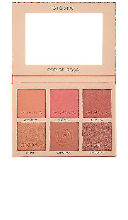 PALETA COR-DE-ROSA Sigma Beauty $49 NUEVO
