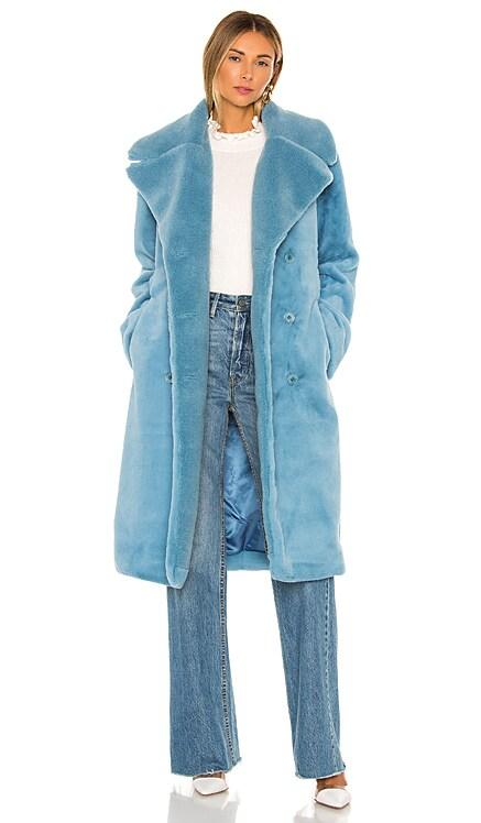Happy Faux Fur Jacket Stine Goya $285