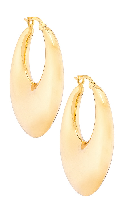 Goldmine Hoop SHASHI $48 BEST SELLER