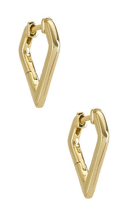 Dynasty Huggie Earring SHASHI $64