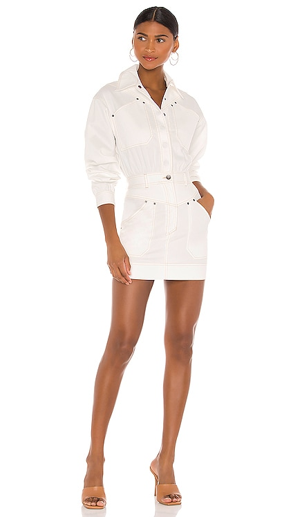 Chiara Utility Mini Dress Shona Joy $365