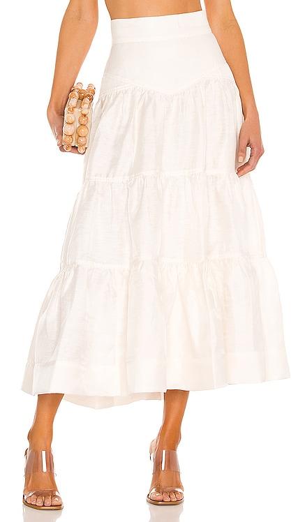 Tiered Midi Skirt Shona Joy $260