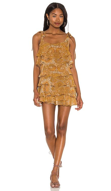 Rowen Ruffle Dress Show Me Your Mumu $178 NEW