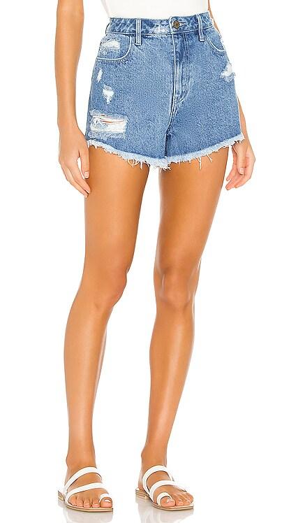 Arizona High Waisted Shorts Show Me Your Mumu $114 NEW