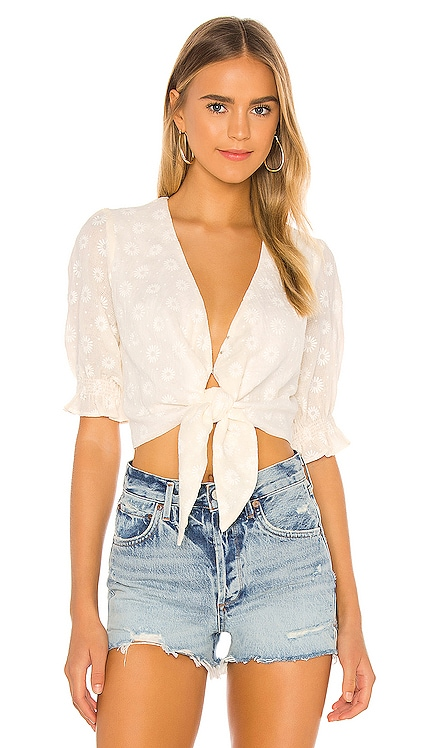 Kimmy Tie Top Show Me Your Mumu $134 NEW